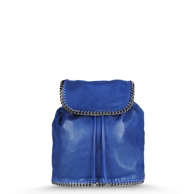 BLUE FALABELLA SHAGGY DEER BACKPACK