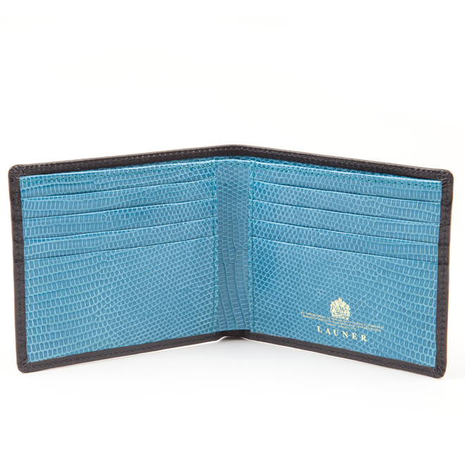 Launer Lizard Skin Credit Card Case £276 (2)