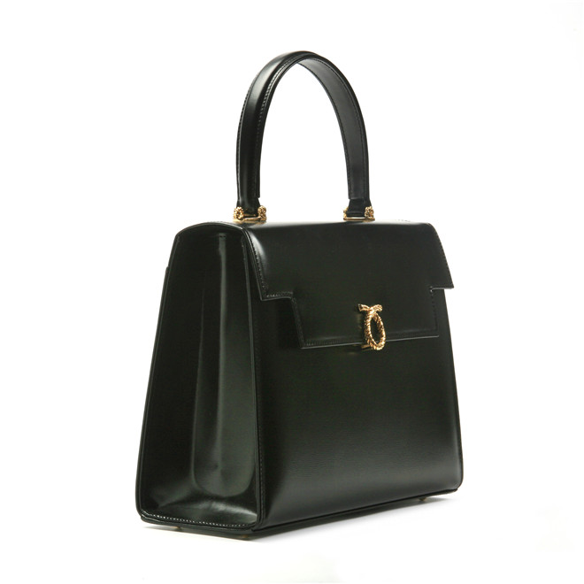 Launer London Traviata Handbag Black £1,450